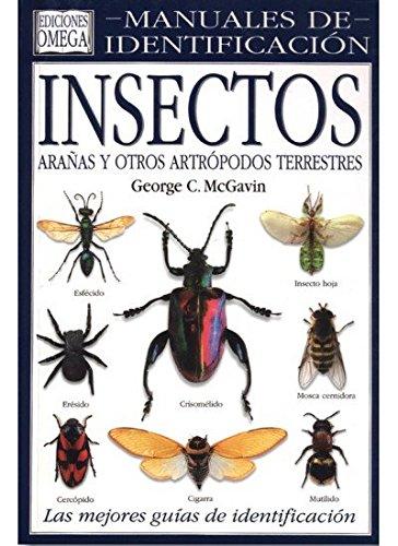 9788428212014: INSECTOS. MANUAL DE IDENTIFICACION (GUIAS DEL NATURALISTA-INSECTOS Y ARACNIDOS)