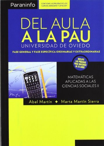 9788428300001: Del aula a la PAU (Matematicas (paraninfo))
