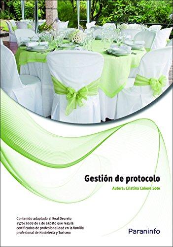 9788428310826: Gestión de protocolo