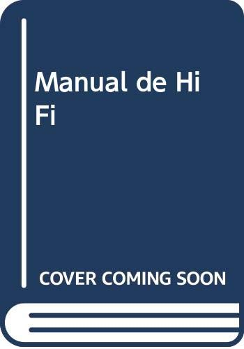 9788428310949: Manual de Hi Fi (Spanish Edition)