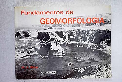 9788428312141: Fundamentos de Geomorfologia (Spanish Edition)