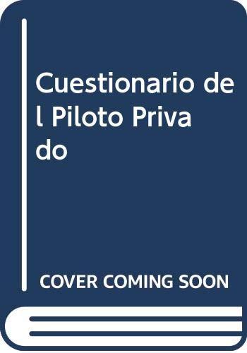 9788428313346: Cuestionario del Piloto Privado