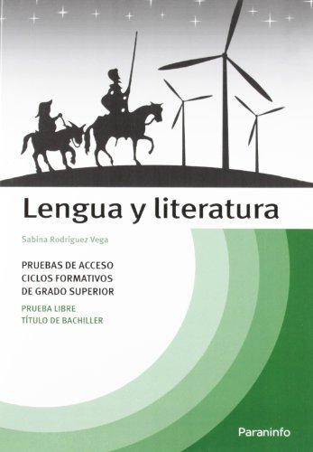 9788428315043: Temario lengua y literatura pruebas acceso ciclos formativos