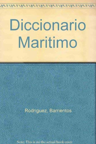 9788428315142: Diccionario maritimo ingles-español español-ingles