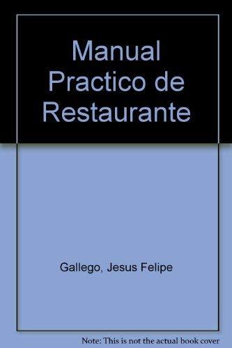9788428317320: Manual practico de restaurantes