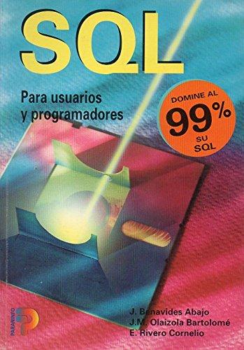 9788428318211: SQL.?USUARIOS?PROGRAMADORES