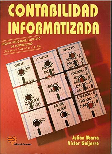 9788428319645: Contabilidad informatizada