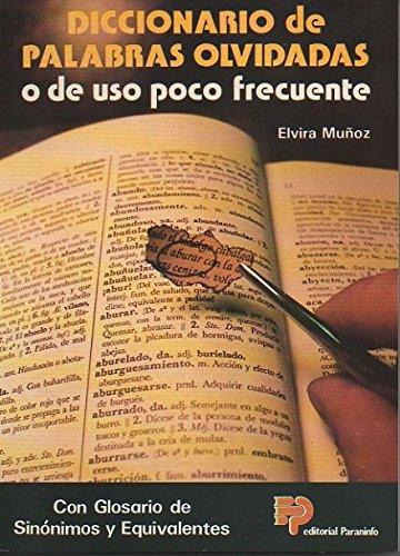 9788428319867: Diccionario de Palabras Olvidadas (Spanish Edition)