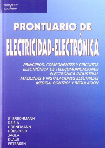 9788428322256: Prontuario de electricidad-electrónica