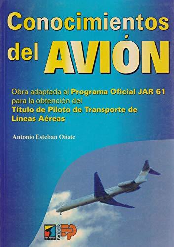 9788428323512: Conocimientos del avion