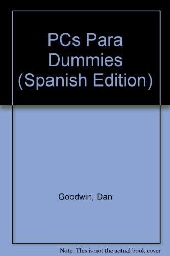 9788428323819: PCs Para Dummies (Spanish Edition)