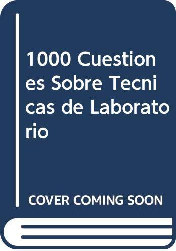 9788428325004: 1000 Cuestiones Sobre Tecnicas de Laboratorio (Spanish Edition)