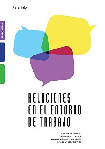 9788428325882: Relaciones En El Entorno de Trabajo (Spanish Edition)