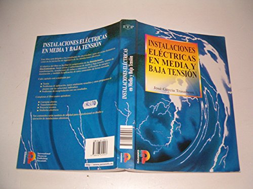 9788428325943: Instalaciones Electricas En Media y Baja Tension (Spanish Edition)