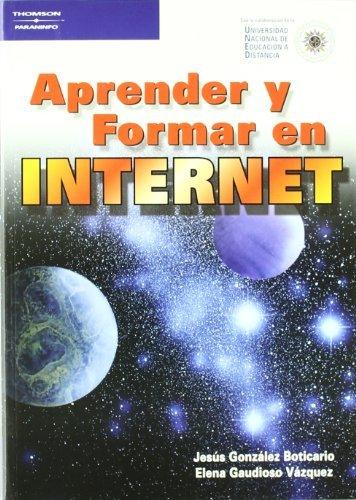 9788428327435: Aprender y Formar En Internet (Spanish Edition)