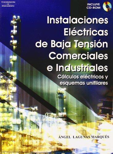 9788428329118: Instalaciones eléctricas de baja tensión comerciales e industriales