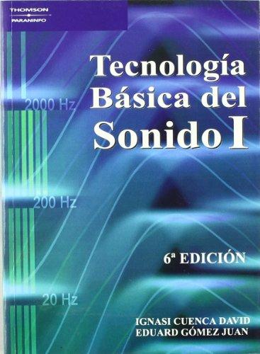 9788428329200: TECNOLOGIA BASICA SONIDO 1 ( NUEVO)