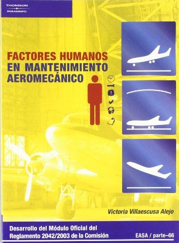 9788428329323: Factores Humanos En Mantenimiento Aeromecánico
