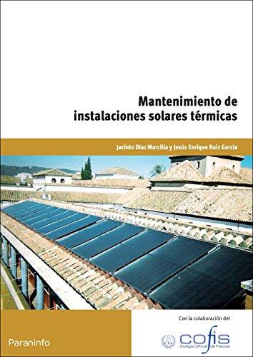9788428330145: Mantenimiento de instalaciones solares térmicas