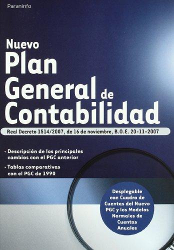 9788428330213: NUEVO PLAN GENERAL DE CONTABILIDAD