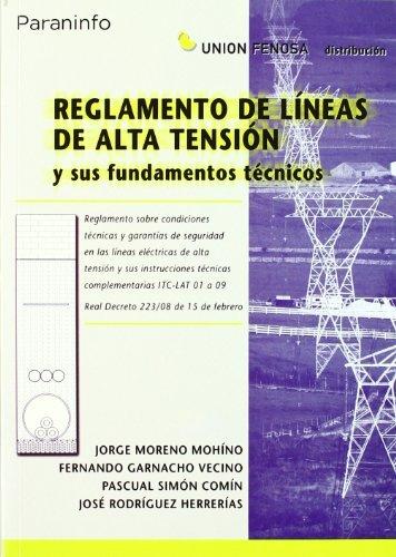 9788428330343: REGLAMENTO LINEAS ALTA TENSION UNION FENOSA