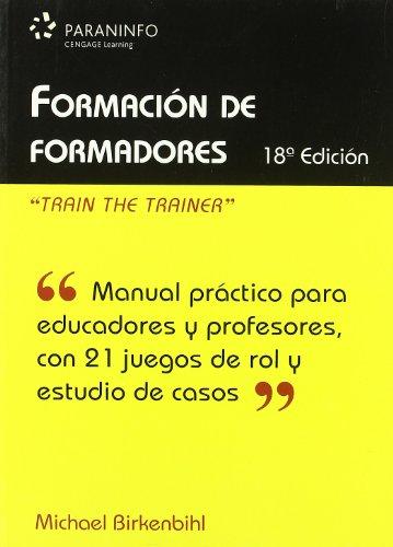 9788428331500: Formación de formadores (Educacion)