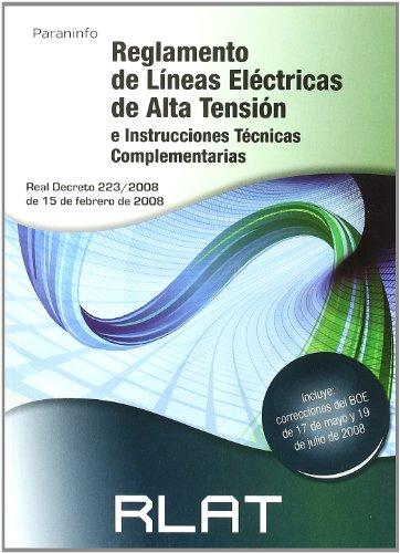 9788428331685: RLAT. Reglamento de líneas eléctricas de alta tensión
