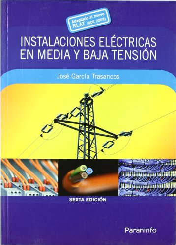 9788428331906: INSTALACIONES ELECTRICAS MEDIA Y BAJA TENSION