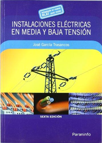 9788428331906: Instalaciones eléctricas en media y baja tensión