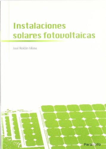 Instalaciones solares fotovoltaicas: ROLDAN VILORIA