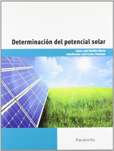 9788428332965: Determinación del potencial solar