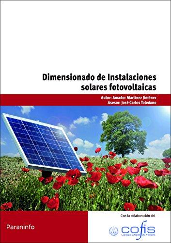 9788428332989: Dimensionado de instalaciones solares fotovoltaicas