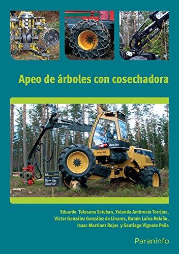 9788428333382: Trabajos de árboles con cosechadora