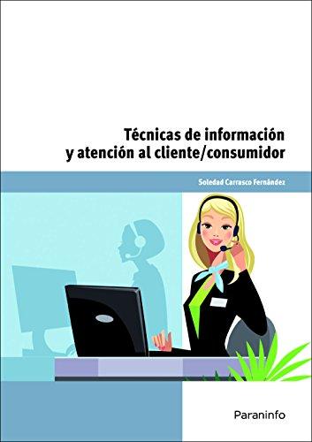 9788428334600: Técnicas de información y atención al cliente/consumidor (Cp - Certificado Profesionalidad)