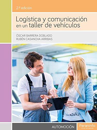 9788428335225: Logística y comunicación en un taller de vehículos