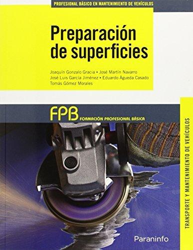 9788428335836: Preparacin de superficies