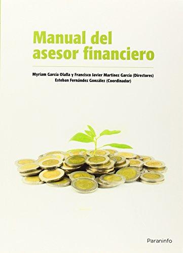 MANUAL DEL ASESOR FINANCIERO: MANZANARES ALLÉN, JOSE;MENÉNDEZ
