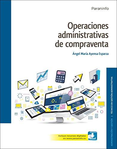 9788428339445: Operaciones administrativas de compraventa ( Edición 2017)