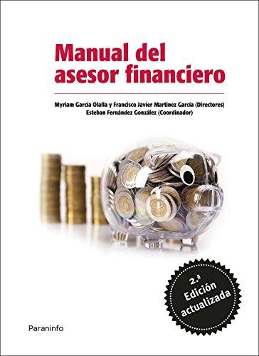 MANUAL DEL ASESOR FINANCIERO: MYRIAM GARCIA OLALLA,
