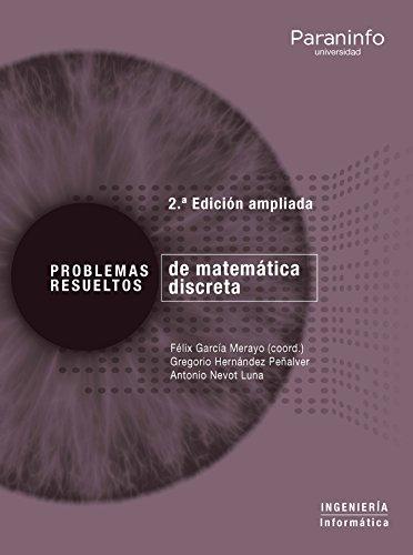 9788428340809: Problemas resueltos de matemática discreta