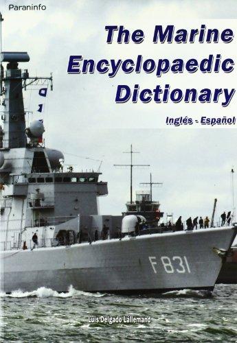 9788428380775: Diccionario enciclopédico marítimo Inglés-Español