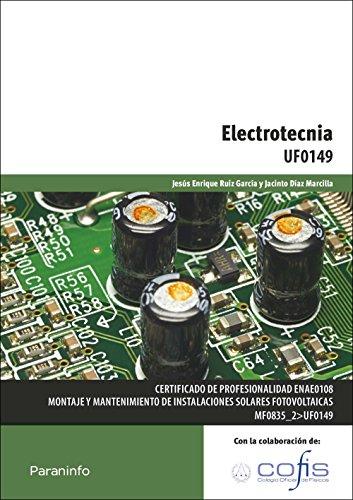 9788428381369: ELECTROTECNIA (CERTIFICADO DE PROFESIONALIDAD ENERGIA Y AGUA)