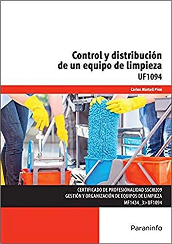 9788428397827: Control y distribución de un equipo de limpieza