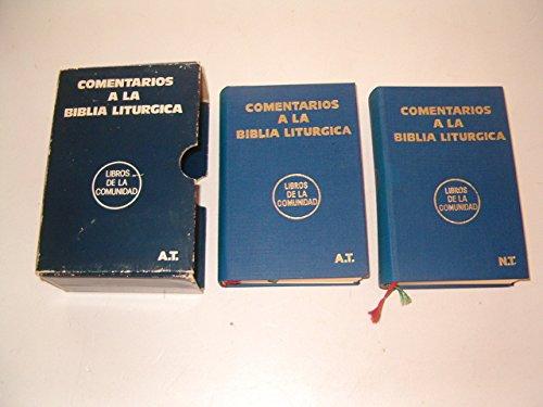 9788428506144: Comentarios a la Biblia litúrgica. (Antiguo y Nuevo Testamento)