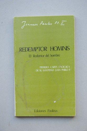 9788428507448: Redemptor hominis (el redentor delhombre)
