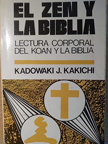 9788428508216: El zen y la biblia