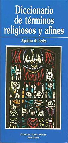9788428513777: Diccionario de términos religiosos y afines