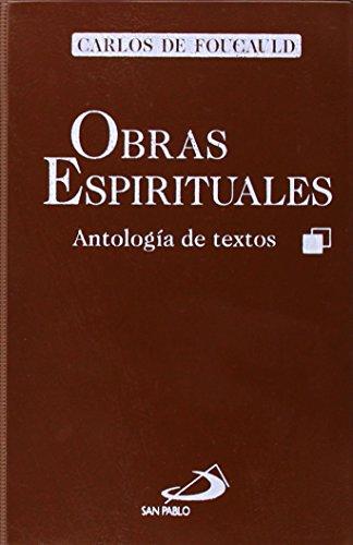 9788428520409: Obras espirituales (Maestros)