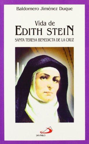9788428521833: Vida de Edith Stein: Santa Teresa Benedicta de la Cruz