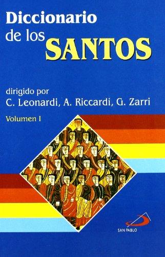 9788428522571: Diccionario de los santos (2 volúmenes)